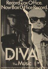 "18/12/82PN20 Advert: Irene Silberman Presents 'diva. The Music 7.5""x5.5"""