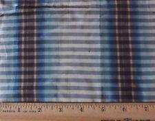 Antique French 18thC Ombré Woven Fine Dress Silk c1780~Indigo & Mauve~Dolls
