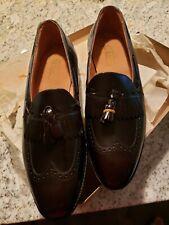 NEW Johnston & Murphy Chief Executive Burgundy Men's Dress Shoes 9.5