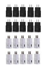 LOT OF ADAPTIVE FAST CHARGING WALL CHARGER ADAPTER FOR SAMSUNG S6/7/8 NOTE 4/5/6