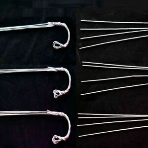 (12 Pack) 30'' Metal Hanger w/4 wires by Sophie's Orchids