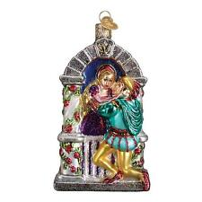 ROMEO AND JULIET OLD WORLD CHRISTMAS GLASS SHAKESPEARE LOVE ORNAMENT NWT 24165