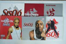 "Sisqo 6 X 12"" Vinyl   Thong Song, Unleash The Dragon, Got To Get It, Can I Live"