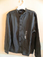 NWT Gap Kids boy olive button down & full zip cardigan style sweater; S (6-7)