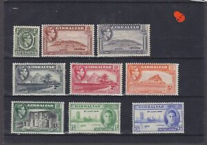 Gibraltar KGVI Mounted Mint Collection
