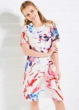 💖 Ladies Closet Mutil Print Tunic Dress UK Size 10