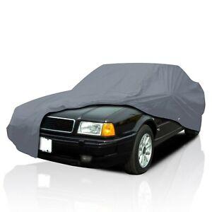 4 Layer Waterproof Car Cover for Audi 80(4000) Sedan 1979-1986 UV Protection