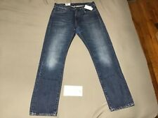 (SZ 33/32) Levi's Made Crafted Tack Slim Patch Jeans