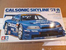Tamiya Art.Nr.219  Modellbausatz Nissan Calsonic Skyline GT-R 34 Blau    1:24