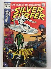 RARE Marvel THE SILVER SURFER #10 Silver Age Comic Book - 1969