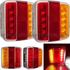 2x piloto trasero 5 funciones de LED HOMOLOGADO para remolques, caravanas,