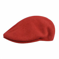 Authentic Wool Kangol 100 Wool 504 Ivy Cap Hat Style 0258BC Sizes S M L XL XXL Claret Red (close to Burgundy) Small