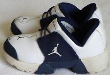 VTG Nike Jordan 304183 101 Toddlers Blue White Slip On Sneaker Shoes Sz. 7 USED