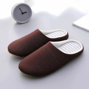 Pair Women Japanese Slippers Indoor House Soft Cute Cotton Flip Flop Classic All