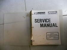 GENUINE 1992 Mercury Mariner Outboards Service Manual 50/55/60 90-817643-1