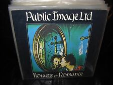 "PUBLIC IMAGE LTD flowers of romance ( rock ) 7""/45 picture sleeve"