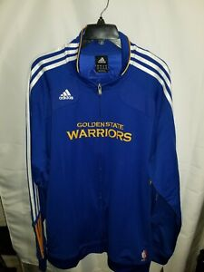Adidas Golden State Warriors Warm up Jacket size 2XL NWT