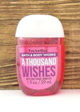 Bath & Body Works a Thousand Wishes PocketBac Hand Sanitizers X5