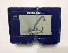 NEW Peerless Chrome Plated Laundry Faucet W/Bracket Model P9272-L