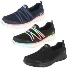 Ladies Skechers Slip On Trainers Synergy - Scene Stealer 12004