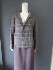 45rpm umii908 boiled wool tartan plaid jacket NEW with TAG  size 4