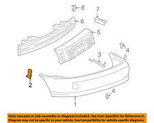 Pontiac GM OEM 00-02 Sunfire Rear Bumper-Bumper Cover Bracket Right 22605242