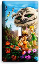 TINKER BELL FAWN NEVERBEAST GRUFF MONSTER FAIRIES SINGLE LIGHT SWITCH WALL PLATE