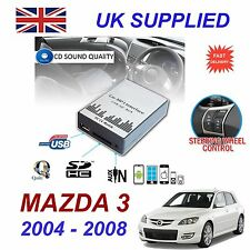 Para Mazda 3 MP3 SD USB CD AUX entrada adaptador de Audio Digital Módulo de cambiador de CD
