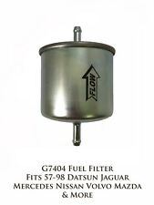 G7404 Gas In-Line Fuel Filter Fit 57-98 Datsun Jaguar Mercedes-Benz Nissan Volvo