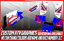 YAMAHA RAPTOR BANSHEE 250/350/660/700 YFZ 450/450R GRAPHICS DECALS