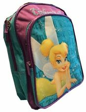 "Disney Tinkerbell Backpack 12"" School bag Tink Bell new"