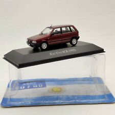 IXO 1:43 Fiat Uno SCR 1992 Red Diecast Models Collection Used