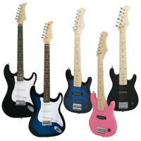 "30/39"" Electric Guitar Kids +5/10 Watt Amp +Gig Bag Case +Guitar Strap Beginners"