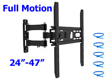 TV Wall Mount Full Motion Articulating Swivel Tilt Bracket 32 39 40 42 46 47 50
