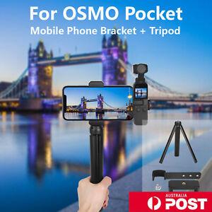 For DJI OSMO Pocket & Portable Mobile Phone Bracket+Tripod 2 Pcs Accessories Set