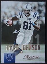 NFL 116 Andre Johnson Indianapolis Colts Panini Prestige 2015