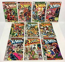 X-MEN #102,103,105,106,107,108,109,110,111,112 (10 issues & Keys) 1976-78 Marvel