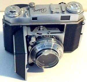 Kodak Retina IIa Type 016 Rangefinder Camera Xenon 2/50 Synchro-Compur SN 552140