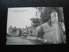 FRANCE - carte postale avallon  (petite porte/tour gaujard) (cy58) french