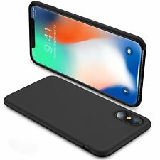 Supreme Quality Soft Slim Case For Apple iPhone X-Supports Wireless Charging
