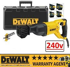 DeWALT DWE305PK 240v Reciprocating Saw Recip Sabre Saw 1100w NEW