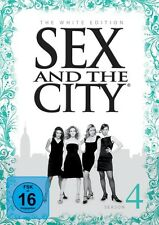 SEX AND THE CITY S4 WHITE EDITION (SARAH JESSICA PARKER,...) 3 DVD NEU