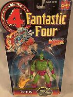NIB VTG Marvel Comics Fantastic Four Triton Action Figure Toybiz 1995 FS