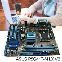 ASUS P5G41T-M LX V2 Motherboard LGA 775 DDR3 8GB For Intel M P5G41T V2 LX