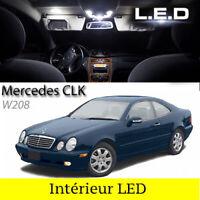 Kit ampoules à LED pour l'éclairage intérieur plafonnier blanc Mercedes CLK W208
