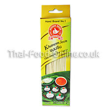 Authentic Thai Kanom Jeen (Noodle for curry) (200g) by Nguan Soon - UK Seller