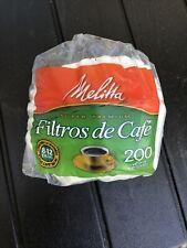 Melitta PAB200 Basket Coffee Filter - White