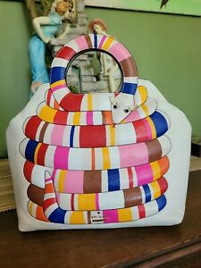 """KATE SPADE ♤ NEW YORK SPICE THINGS UP """"SNAKE BAG"""" NWT HARD TO FIND $328"""