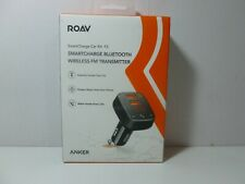 Roav SmartCharge Car Kit F2 Bluetooth Wireless USB Car Charger FM Transmitter