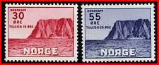 NORWAY 1953 NORTH CAPE  SC# B55-56 VF MNH CV$37.00